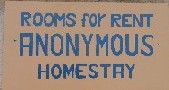Anonymous Homestay Logo